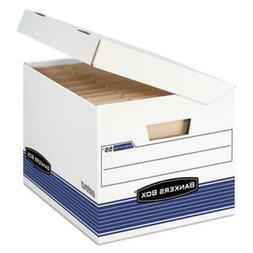 Fellowes 0005502 FastFold Flip Top File Storage Box  Letter/