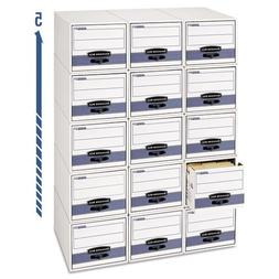 Bankers Box 00306 Stor/drawer steel plus file, 5x8 card size
