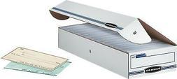 Bankers Box 00706 Stor/File Storage Box- Check- Flip-Top Lid