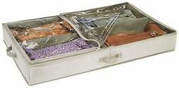 Interdesign 05332 Aldo Under Bed Boot Storage Box
