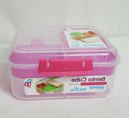SISTEMA 1.25L Bento Cube Lunch Meal Plastic On The Go School