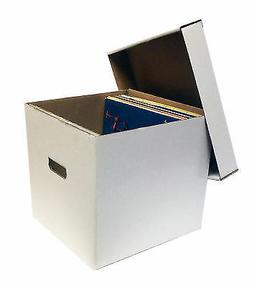 "10 New 33 1/3 RPM Album Storage Boxes 12"" Record Laser Disc"