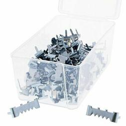 100-Count Metal Sawtooth Picture Frame Hangers with No Nail