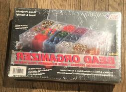 10762 plastic bead organizer with 17 compartments