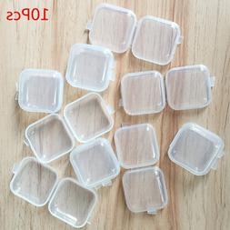 10pc Mini Transparent Plastic Small <font><b>Box</b></font>