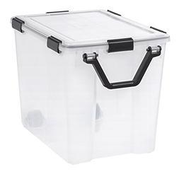 IRIS USA, Inc. 110521 Storage Box, Clear