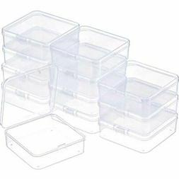 12 Craft & Sewing Supplies Storage Pack Clear Plastic Beads
