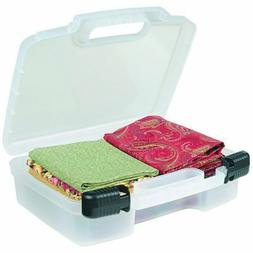 ArtBin 12-Inch Quick View Deep Base Carrying Case, Transluce