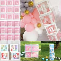 12'' Transparent Boxes Storage Balloons Wedding Kid Birthday