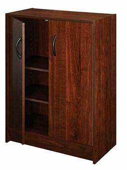 ClosetMaid 1307 Stackable 2-Door Organizer, Dark Cherry