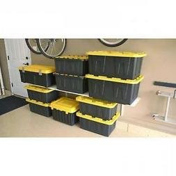 15-Gallon Tough Tote Heavy Duty Storage Container Plastic Bo