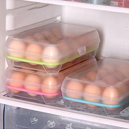 15 Grid Kitchen Refrigerator Egg <font><b>Box</b></font> <fo