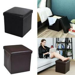 15 storage ottoman folding toy box chest
