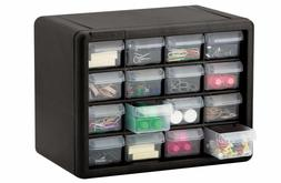 16 drawer small parts storage cabinet tools
