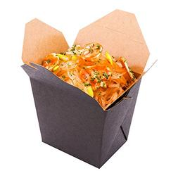 16 oz square noodle take out food