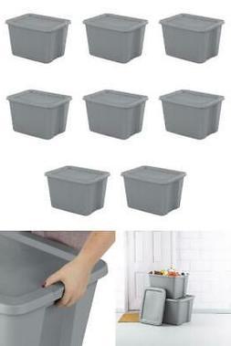 18 gallon tote box case 8 pack