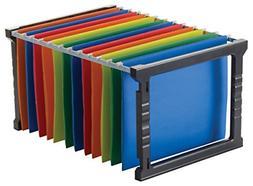 """18""""Plastic Hanging File Folder Frame Legal Size Storage Boxe"""