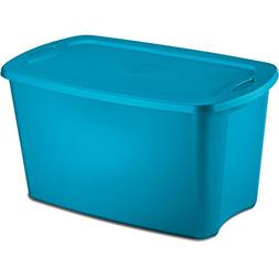 STERILITE 18354306 30 gallon Blue Storage Tote