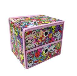 1pcs Tokidoki 2 layers Storage Boxes fashion Case Cosmetic B