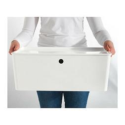 2 Box wih Lid Storage Container Organizer Clothes Cloth Toys