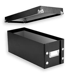 2 CD Storage Rack Box Holder Disk Case Media Display Space S