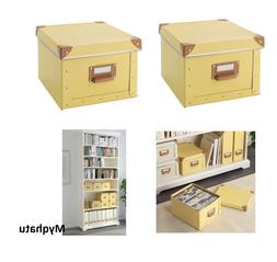 "IKEA Fjalla Box with Lid handle 8 ¾"" x 10 ¼"" x 6 ¼"" Lot o"