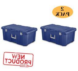 2 pack foot locker trunk storage footlocker