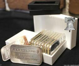 2 Sure Safe Bullion Case Storage Box for Silver Engelhard 1o