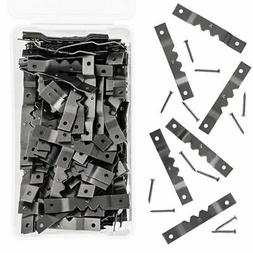 200x metal sawtooth picture frame hangers 400