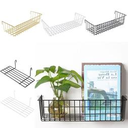 2018 New Wall Decoration Iron Frame Hanging Rack Wall Displa