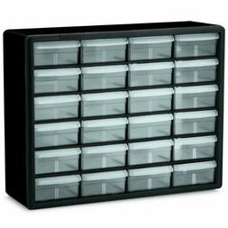 24 Drawer Plastic Parts Storage Hardware & Craft Cabinet 20