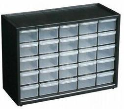 25 Drawer Storage Cabinet Home Organizer Garage Kitchen Arts