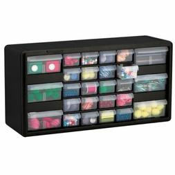 Black 26 Drawer Storage Cabinet Garage Organizer Kitchen Art