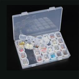 28 slots plastic adjustable jewelry nail art