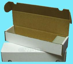 3 BCW 800 COUNT CARDBOARD CARD STORAGE BOXES Trading Sports