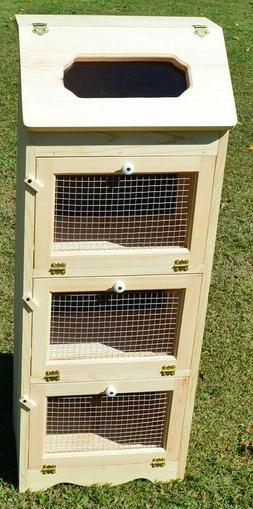 3 door vegetable bin bread box storage