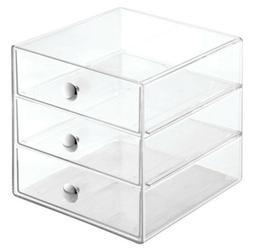 InterDesign 3 Drawers Plastic Vanity Organizer  35300