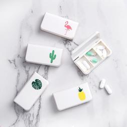 3 Grids Portable Pill Medicine <font><b>Box</b></font> Holde