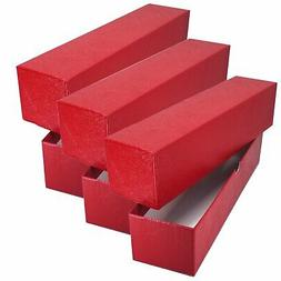 3 RED STORAGE BOX  FOR 2x2 FLIP SNAP COIN HOLDERS
