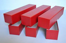 3 RED STORAGE BOX FOR 2X2 COIN HOLDERS