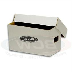 3 Storage Boxes with Lids - Holds 150 7inch 45RPM - Cardboar
