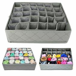 30-cell Bamboo Charcoal Underwear Ties Socks Drawer Closet O