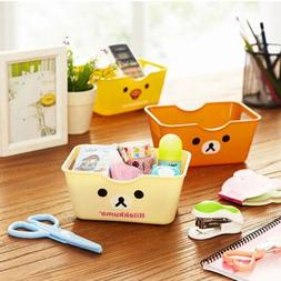3Color Desk Stationery Organizer Storage Box Cosmetic Case H