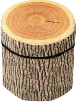 Bibitime 3D Creativr Tree Stump Storage Ottomans Clothing Bo