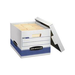 Bankers Box - Quick/Stor Storage Box Letter/Legal Locking Li