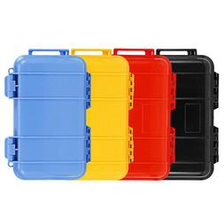 4 Colors Plastic Airtight Storage Case Shockproof Waterproof