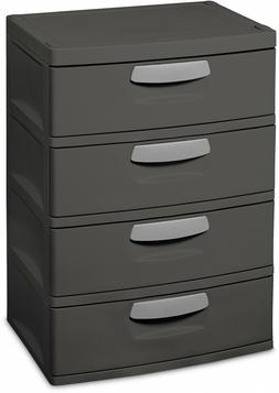 4-Drawer Shelving Chest Unit, Toy Tool Equipment Storage Dre