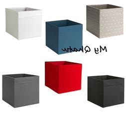 Ikea 2 Drona Storage Box Organizers Gray Fits/ Kallax