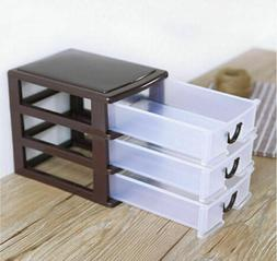 4 layers plastic drawer small tower storage