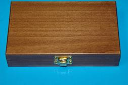 5 wooden decorative trinket jewelry storage boxes